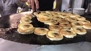 Super Burger  🍔 of pakistan chowk   street food of karachi, pakistan 🇵🇰