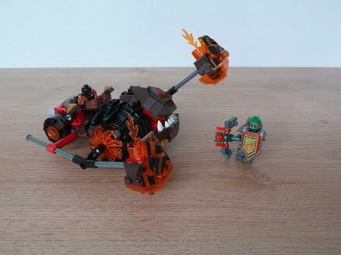 Vidéo LEGO Nexo Knights 70313 : L'écrase-lave de Moltor