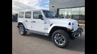 2020 Jeep Wrangler Unlimited Sahara 4X4 Review