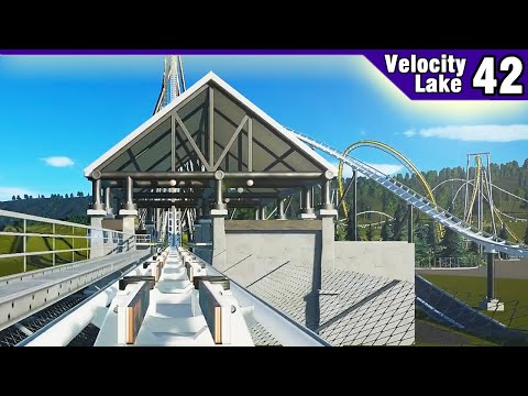 Velocity Lake (ep. 42) -  The Giga's Station is Here!   Planet Coaster