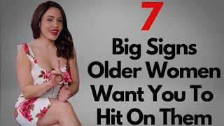 7 Signs Older Women Want To Be Approached - How You Can Spot The Signs & What To Do Next