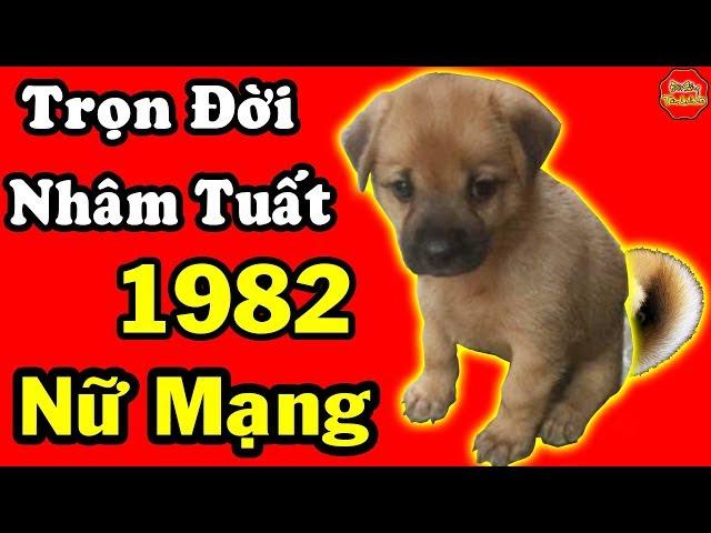 Trọn Đời Nhâm Tuất Nữ Mạng, Sinh Năm 1982, Rất Giàu Sang