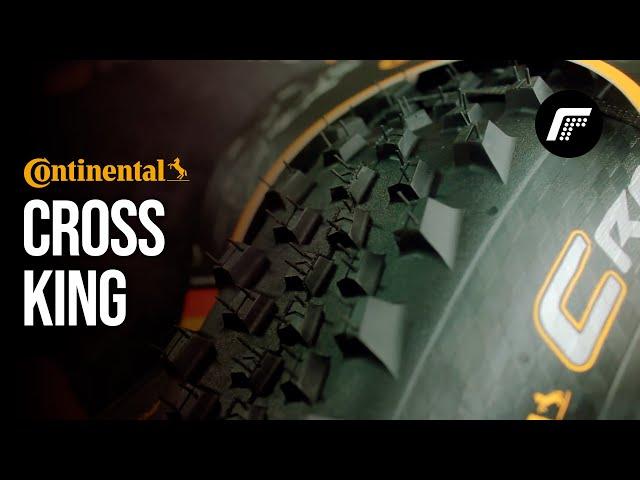 "Видео Покрышка Continental Cross King 29""x2.20, Foldable, PureGrip, ShieldWall System"