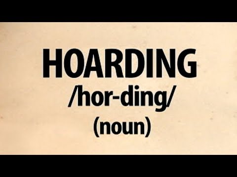 Hoarding | Word of the Day