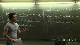09: Conservation laws and symmetries - Part 1