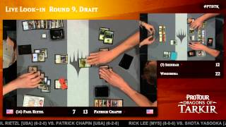 Pro Tour Dragons of Tarkir Round 9 (Draft): Shahar Shenhar vs. Jelger Wiegersma