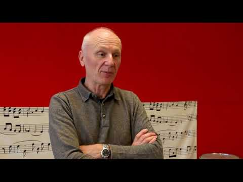 Christophe, chef d'orchestre à l'école
