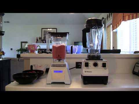 Video Vitamix vs Blendtec- Epic Ice Cream Test!