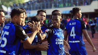 Highlight Gol-gol Pertandingan PSIS Menjamu PSMS Medan di Kendal