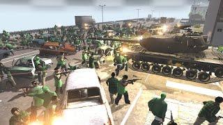 MASSIVE GTA: San Andreas STREET WAR - Red Rising MOD (MoW: AS2)