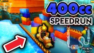 I Attempted A 400cc Speedrun In Mario Kart Wii...