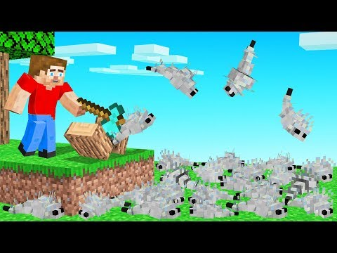 Break ANY BLOCK = SILVERFISH Spawn In Minecraft (too many)