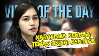 VIRAL HARI INI: Mahasiswa Kendari Tewas Seusai Bentrok saat Demo, Ada Lubang di Dada Korban