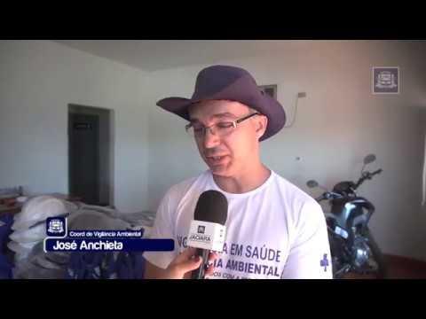 Agentes de combate a endemias recebem novos equipamentos para auxílio dos trabalhos