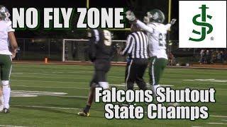 St  Joseph (Met.)  21 South Brunswick 0 | Falcons Pitch A Shutout
