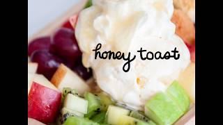 สอนทำ Honey toast ง่ายๆ ทำกินเองที่บ้าน