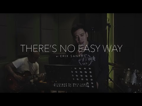 There's No Easy Way - James Ingram (cover) by Erik Santos