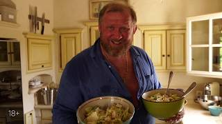 Рецепты от Ивлева - салат цезарь, тар-тар из тунца и авокадо.