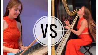 Pachelbel Canon: Antique Harp vs. Harpsichord, which do you prefer?