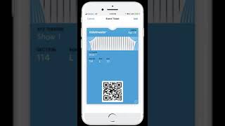 Manage Your Mobile Tickets Purchased on Ticketmaster