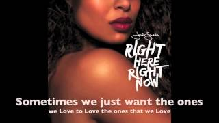 Jordin Sparks - They Don't Give (Lyrics)