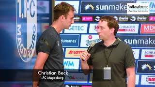 Christian Beck im Interview