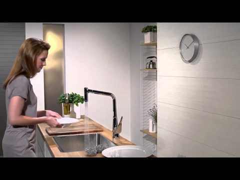 Смеситель для кухни Hansgrohe Metris (14820000) 4