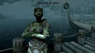 Skyrim The Adventures Of Snowball the dragonborn rude argonian