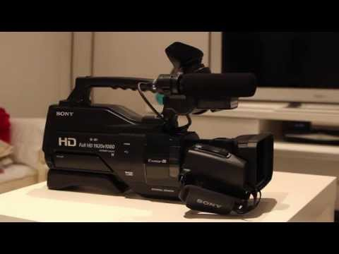Sony HXR MC2500 Unboxing