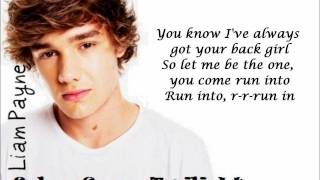 One Direction - Everything About You (Lyrics + Pictures)