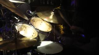 3 Inches of Blood - Leather Lord - Drum Cam - Calgary, July 13th, 2012