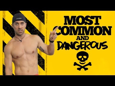 3 MOST COMMON but MOST DANGEROUS EXERCISES ⚠️protect yourself!