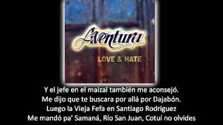 Aventura - Pueblo Por Pueblo (lyric - letra)