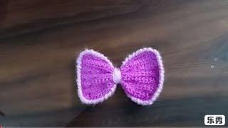 Knit Butterfly tutorial