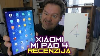 Xiaomi Mi Pad 4 recenzija - tablet savršen za gaming, video i multimediju (08.08.2018)