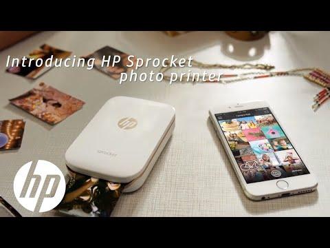 HP Sprocket zseb színes  fotónyomtató, fehér ( tinta nélküli )+ 20 db öntapadós fotópapír - Aukció - Vatera.hu Kép