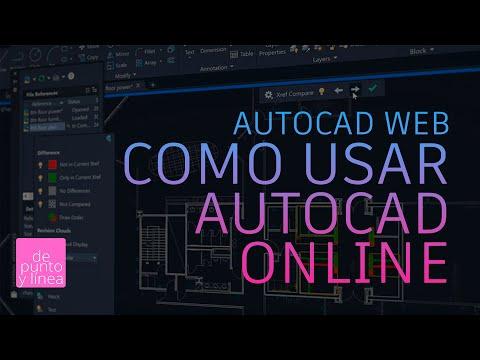 Cómo entrar y utilizar AutoCAD Web - AutoCAD Online!