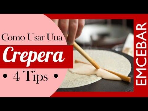4 Tips Para Usar Una Crepera | Cursos de Crepas