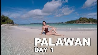 Day 1 of my summer vacation to Palawan, Philippines!