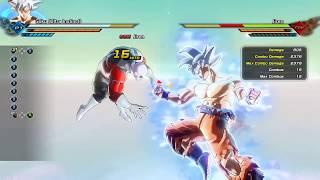 Goku UI and Jiren