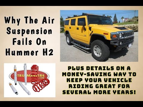 Converting Air Suspension On Your 2003-2009 Hummer H2