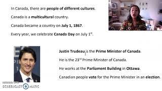 Canada - Lesson #1 (part 2)