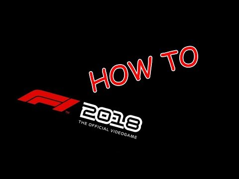 How to F1 2018