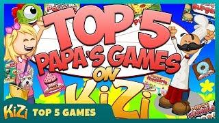 [Kizi Games] → Top 5 Papa's Games