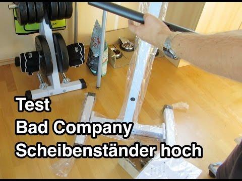 Test Bad Company BCA-98 Pro Scheibenständer | Hantelscheibenständer | Gewichtsständer