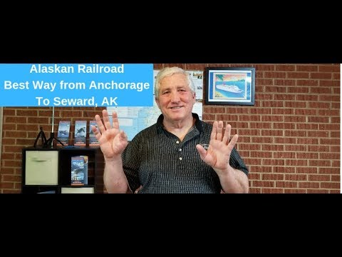 Alaskan Railroad the best choice from Anchorage to Seward