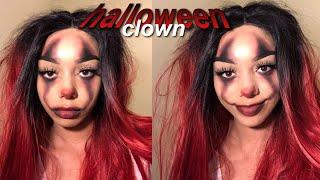 Easy Af Clown Halloween Makeup Tutorial