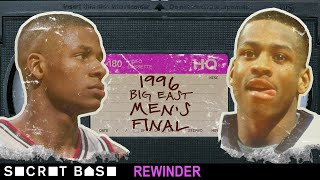 Ray Allen vs. Allen Iverson in the closing seconds of the 1996 Big East Final needs a deep rewind thumbnail