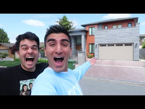 NEW HOUSE TOUR ft. Derek Gerard