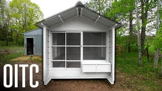 Building Our BEST Backyard Chicken Coop!
